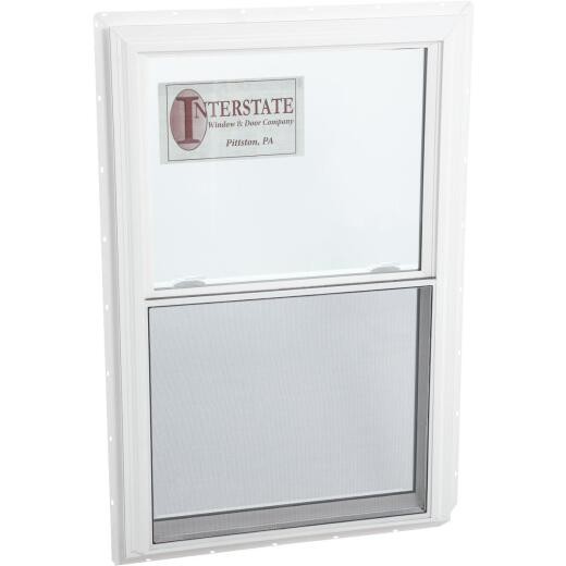 Interstate Model 5100 32 In. W. x 48 In. H. White Vinyl Double Hung Window